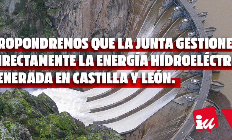 hidroeléctrica generada en Castilla y León