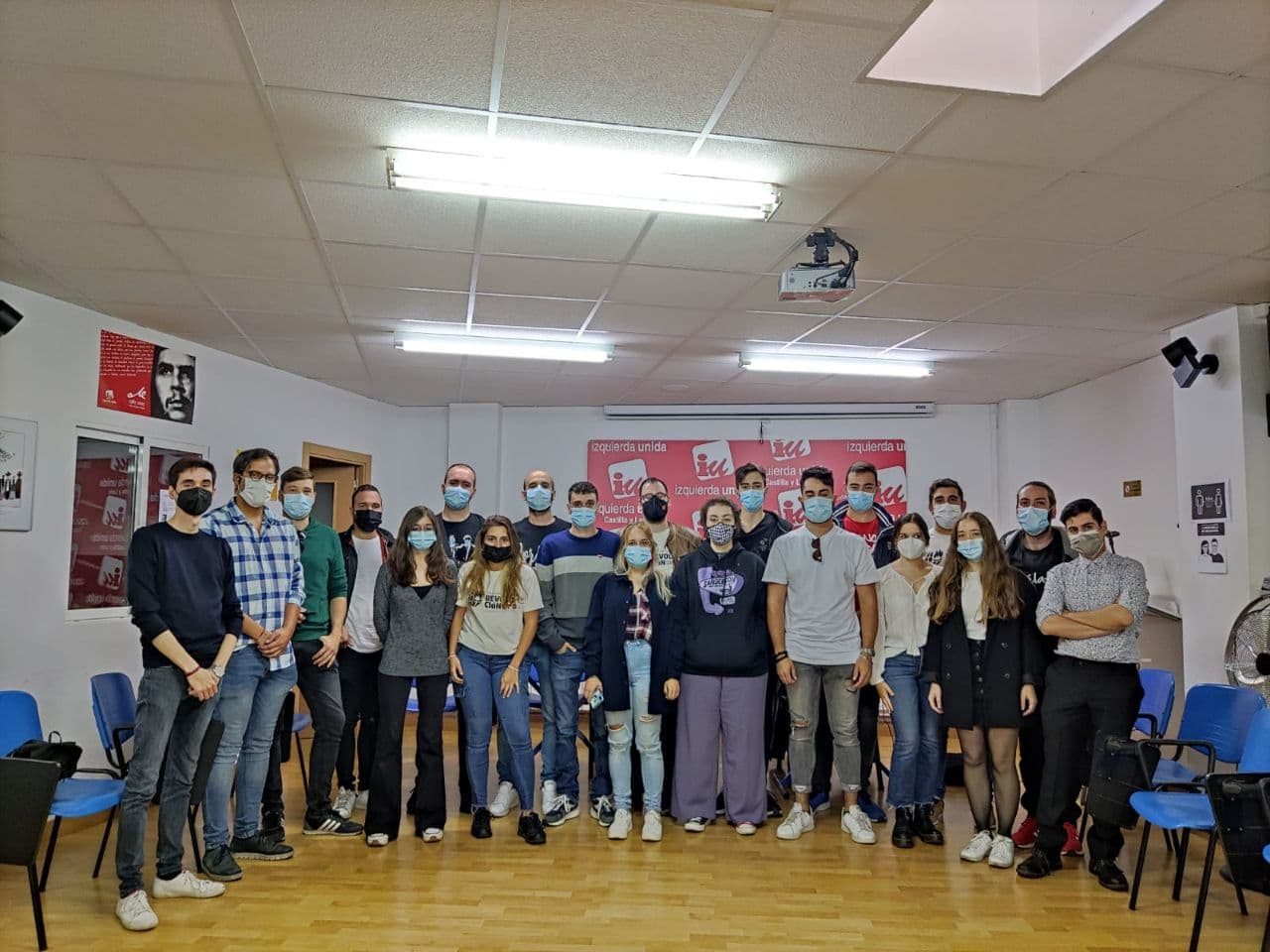 Asamblea de Jóvenes de IU en Castilla y León